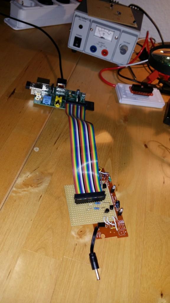 Raspi Car Control with Pi Cobbler